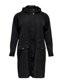 8027 Carevelin long jacket black r/m 54