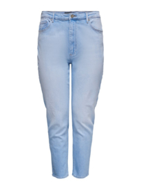 6353 Jeans Careneda hw mom baby blue t/m 54
