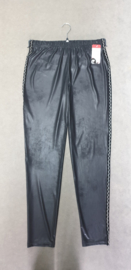 7003 Legging Magna leather look met zilver wave bies t/m 58