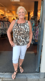 4027 Top Big Kim print tiger  t/m 58