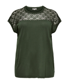 5409 Shirt Carflake forest night t/m 54