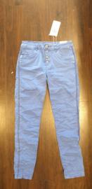 6339 Karo jeans met stut bies K8129A-34 blauw  t/m 48