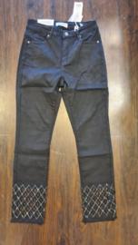 6310 Jeans Monday Open End zwart  t/m 48