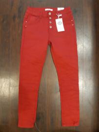 6343 Jeans Karo K2061-43 Rood t/m 44