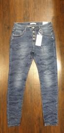 6343 Jeans Karo K2064  Army Blue t/m 48