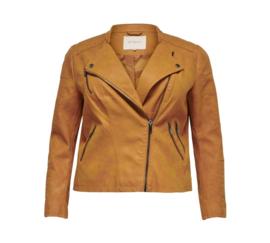 2110 Caravana Leather Biker jasje Pumpkin spice t/m 54