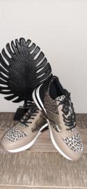 Sneaker La Strada leopard taupe t/m 42
