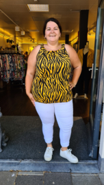 4027 Top Big Kim print zebra  t/m 58