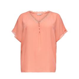 5661 Shirt Carmio coral lace t/m 54
