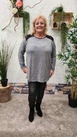 2853 Shirt Cantina grijs t/m 50