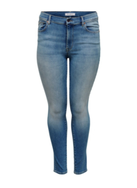 7351 Jeans Carmaya hw sk shape light blue Lengtemaat 34  t/m 54