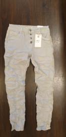 6342 Jeans Karo met bies K8046-15 licht grijs t/m