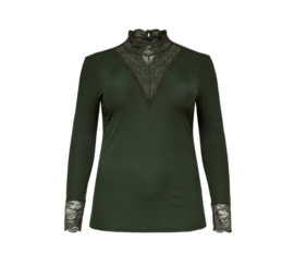 5329 Carlace Higneck lange mouw forest night t/m 54