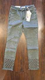 6310 Jeans Monday Open End groen  t/m 48