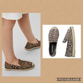 VM May Espadrille leopard t/m 41