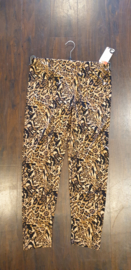 7016 Legging print Tiger bruin  t/m 58
