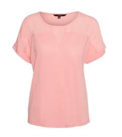5680 Shirt VM Ellen geranium pink t/m 54