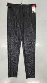 7022 Legging print Shiny little leopard  black t/m 58