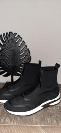Sok Sneaker met rits La Strada black t/m 41