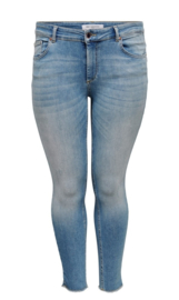 6349 Jeans Carwilly reg ank skinny  jeans blue  t/m 54