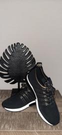 Sneaker La Strada knitted gold t/m 42