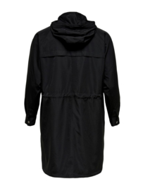 8027 Carevelin long jacket black r/m 54