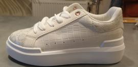 Sneaker Adia White Snake