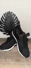 Sneaker La Strada Black mesh t/m 42