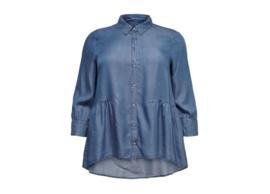 6471 Jeans Blouse Carjemma blue t/m 54