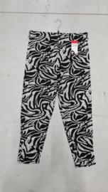 7016 Legging print animal black t/m 58