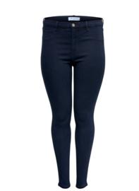 6364 Jeans Carstorm push up hw sk dark blue t/m 54