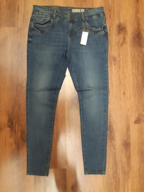 6345 Jeans vero moda seven slim blue denim t/m 52