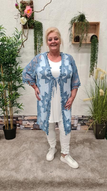2183 Vest Lacy jeans blauw t/m 48
