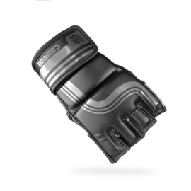 Sanabul Core Series 4 oz MMA handschoenen - zwart en metaal