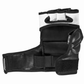 Sanabul Essential MMA Grappling Handschoenen - 4 oz - zwart, zilver