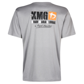 KMG dry-fit T-shirt P3-P5, polyester, lichtgrijs