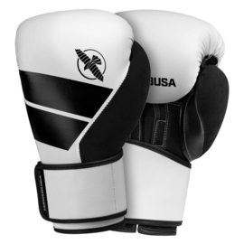 Hayabusa S4 Boxing Gloves - White