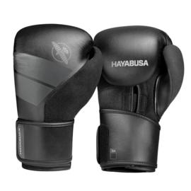 Hayabusa S4 Bokshandschoenen - Zwart - met Hayabusa Perfect Stretch Handwraps - Black - 4,5 meter