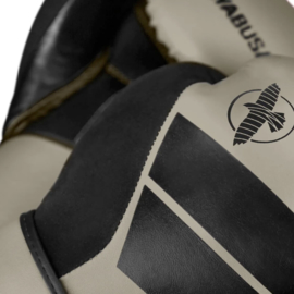 Hayabusa S4 Bokshandschoenen - Clay - met Hayabusa Perfect Stretch Handwraps - Black - 4,5 meter