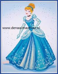 Diamond painting Cinderella Assepoester
