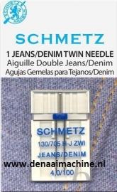 Naaimachine naald  voor jeans tweeling