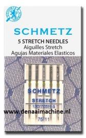 Naaimachine naald  voor stretch stoffen 75