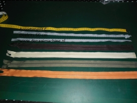 Assortiment C, 60 cm deelbare rits voor o.a. jas