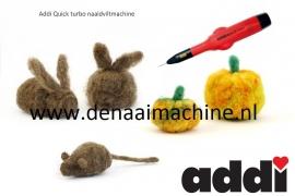 Viltmachine elektrisch Addi