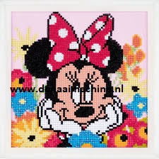Diamond painting Minnie Mouse dagdromen (daydreaming)