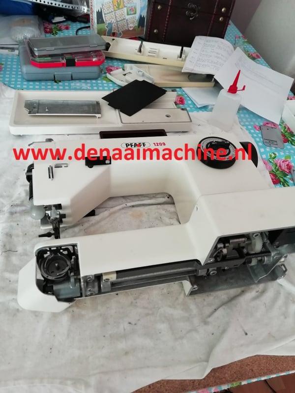 Cursus en begeleiding om eigen naaimachine te onderhouden
