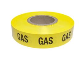 Waarschuwing lint geel Gas