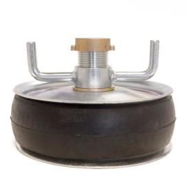 "Afsluitstop ENKELE ring 7""(170-195 mm)"