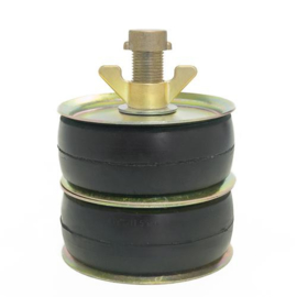 "Afsluitstop DUBBELE ring 4½"" (110-120 mm)"