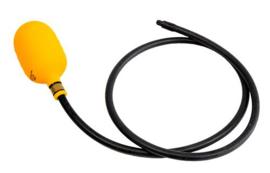 Eesiseel DN 80  72-92 mm met vaste slang